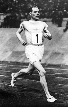 Legendary runner Paavo Nurmi.