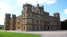 Highclere Castle - filming location of Downtown Abbey