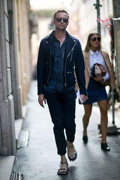 Milan Men's Fashion Week Spring 2016 Street Style - theFashionSpot