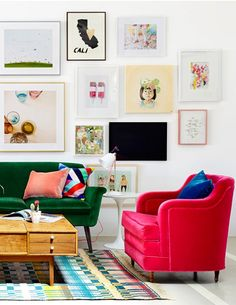 Classic Color Combinations: Pink & Green