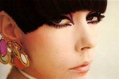 Peggy Moffitt   Love the earrings!