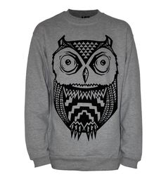 eBay Owl Sweater