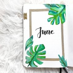 36 Pretty June Monthly Cover Page Ideas for Your Bullet Journal Obsession - The . - 36 Pretty June Monthly Cover Page Ideas for Your Bullet Journal Obsession – The Thrifty Kiwi - Bullet Journal School, Bullet Journal June, Bullet Journal Cover Page, Bullet Journal Notebook, Bullet Journal Ideas Pages, Bullet Journal Spread, Journal Pages, Journal Covers, Junk Journal