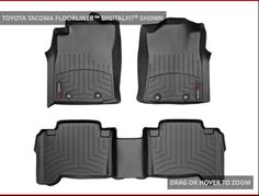 Toyota Tacoma Double Cab Weather Tech All Weather Floor Protection