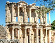 Celsus library Ephesus Turkey