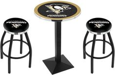Use this Exclusive coupon code: PINFIVE to receive an additional 5% off the Pittsburgh Penguins NHL Black Square-Base Pub Set at sportsfansplus.com
