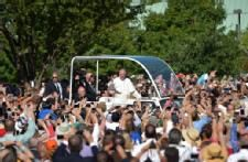 Pope Francis' First Whirlwind Day In U.S.
