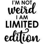 Im not weird - Weird Shirts - Ideas of Weird Shirts - Silhouette Design Store View Design im not weird Silhouette Cameo Projects, Silhouette Design, Silhouette Files, Frases Relax, Mantra, Toil And Trouble, Cricut Vinyl, Cricut Air, Cricut Fonts