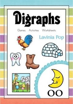 OO Vowel Digraph Games-Activities-Worksheets {84 pages}