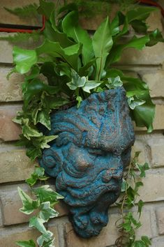 Odin the Sconce Planter or Corner Stone Piece