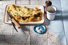 Taste le tour - Beaufort omelette.