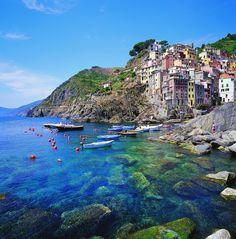 a Mediterranean dream…  Liguria, Italy