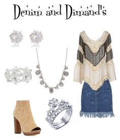 """denim and dimand's"" by tayler-sheppherd on Polyvore featuring Givenchy, River Island, Care Of You, Joie and M&Co"