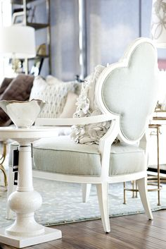 love this alhambra chair from alice lane home