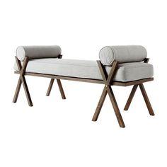 Upholstered Camp Bed