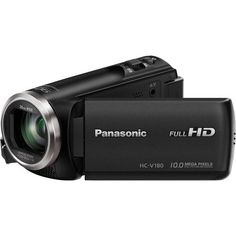 The Panasonic V180 Full HD 1080p handheld camcorder brings a fun worry-free experience to video capture with a 5-axis image stabilizer and super-long 50x optical zoom and up to 90x intelligent zoomin...