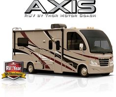 New 25.1 Axis #RUV is a compact Class A #RV not much larger than an SUV but as easy to drive. The perfect #Weekender. #Motorhome #Motorhomes #RVs #RVing #RVLifestyle http://Axis-Motorhomes.com  The 25.1 Class A Motorhome #FloorPlan has large and roomy seating and sleeping accommodations for up to six, kitchen, bathroom, PC workstation even an Exterior TV.