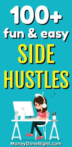Everybody needs a good side hustle they can start from home.  So in this article, I have listed the best side hustles you can do from home.  You will learn how to make money online, how to sell your stuff for extra cash, how to make money doing surveys, and many other ways to make extra income.