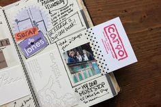 besottment by paper relics: 2014 Souvenir Journal: Portland, Oregon