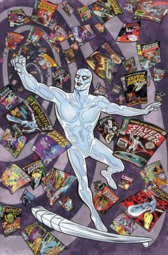 Silver Surfer #6 by Mike Allred *
