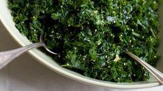 Lemon-Garlic Kale Salad Recipe - NYT Cooking