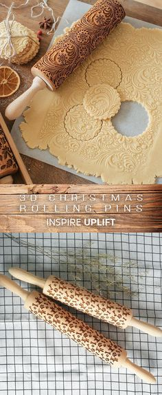 ★★★★★ - Christmas Rolling Pin Finally, an easy way to prepare the most beautiful and original Christmas cookies in just minutes! This unique, Christmas Rolling Pin would make a perfect Christmas gift for your wife, mother, friends (women or men) Christmas Gift For You, Perfect Christmas Gifts, Christmas Goodies, Christmas Desserts, Christmas Treats, Christmas Decorations, Christmas Christmas, Xmas, Fiesta Baby Shower