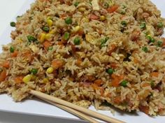 Thermomix Recipe Community: Non-Fried Fried Rice by Witsy - Recipe of category Pasta & rice dishes Wrap Recipes, Rice Recipes, Paleo Recipes, Asian Recipes, Dinner Recipes, Cooking Recipes, Radish Recipes, Cantaloupe Recipes, Flour Recipes
