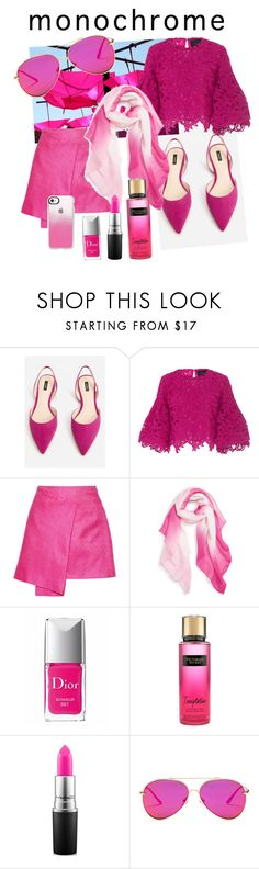"""""""Pink party"""" by zajc-ziva ❤ liked on Polyvore featuring MANGO, Costarellos, Maiyet, Caslon, Christian Dior, Victoria's Secret, MAC Cosmetics, AQS by Aquaswiss and Casetify"""