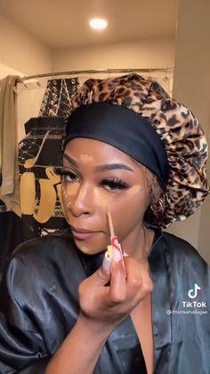 Black Queen Makeup, Makeup For Black Skin, Black Girl Makeup, Girls Makeup, Pretty Makeup Looks, Makeup Eye Looks, Gorgeous Makeup, Gorgeous Hair, Eyebrow Makeup Tips