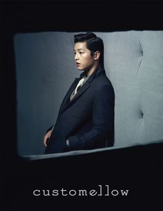 Song Joong Ki for Customellow Winter 2012 Ad Campaign