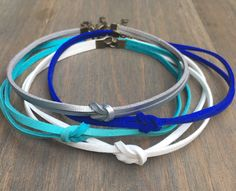 Leather/Suede Knot Choker