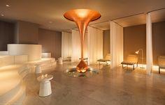 Mondrian London Hotel. Spa. Designed by Tom Dixon #easyguide #travel #hotel #uk #london #mondrian #design #accomodation