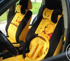 Buy Wholesale Winnie the pooh Universal Car Seat Covers Plush fabrics - Yellow, Car Seat Covers Accessories prices from Chinese Wholesaler Winnie The Pooh Shirt, Winne The Pooh, Disney Winnie The Pooh, Disney Cars, Cute Disney, Girly Car, Cute Car Accessories, Yellow Car, Pooh Bear