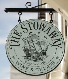 The Stowaway Restaurant Sign / Danthonia