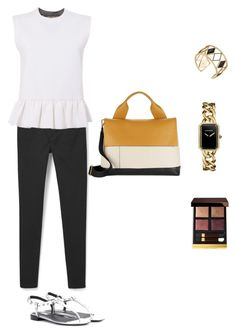 """Untitled #660"" by vero199638 on Polyvore featuring MANGO, Marni, Balenciaga, Rebecca Minkoff, Chanel and Tom Ford"