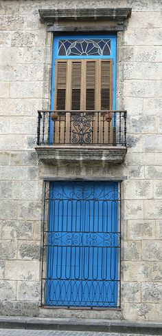 colonial architecture on plaza de la cathedral, havana