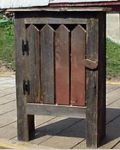 free primitive images to paint on wood | ... REPRODUCTION FURNITURE PAINTED COUNTRY WALL CUPBOARD PRIMITIVE EAR