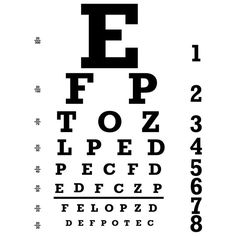 It's just a photo of Unforgettable Free Printable Kindergarten Eye Chart