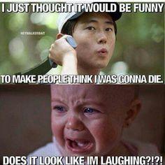Not funny Glenn