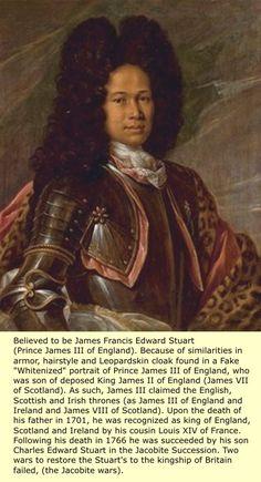 Black Britain. James III of England, cousin of Louis XIV.