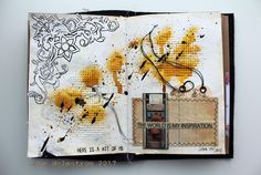 travelling art journal march 7gypsies tattered angels canvas corp creative crew traveling art journal