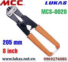 Kìm cắt cộng lực đặc biệt 205mm, MCS-0020.  Chiều dài: 205mm - 8 inch. Trọng lượng: 270g. Khả năng cắt: 4.0 mm sắt có độ cứng 80 HRB. Khả năng cắt: 2.0 mm sắt có độ cứng 31 HRC.