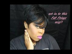 FAB Fringe Wig by Sensational! under $20 | Looove! - YouTube