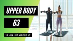 10 Min Hiit Workout, Cardio, Lean Body Workouts, Mr Muscle, Upper Body Circuit, Workout Calendar, Body Training, Different Exercises, Toned Arms