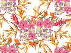 Resultado de imagen para tropical pattern wallpaper