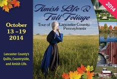 Stitchin' Heaven Travel: Lancaster County Amish Tour 2014 October 13 - 19, 2014