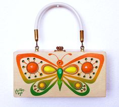 Enid Collins of Texas Flutterbye Box Bag by niwotARTgallery, $155.00