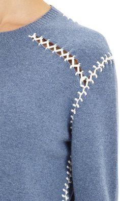 Whipstitch-Seam Sweater