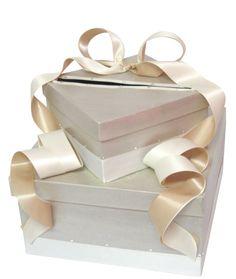 Simply elegant #wedding card box