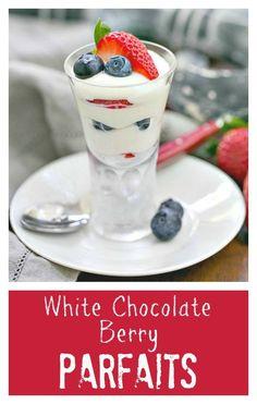 WHITE CHOCOLATE PANNACOTTA | White Chocolate, Chocolate and Panna ...